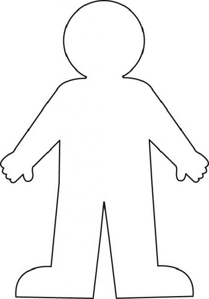 It's just a graphic of Zany Printable Human Body Outline Template Pdf