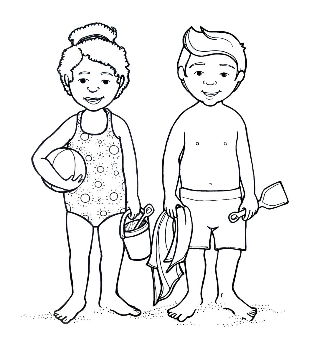 1059x1200 Coloring Body Outline Coloring Page