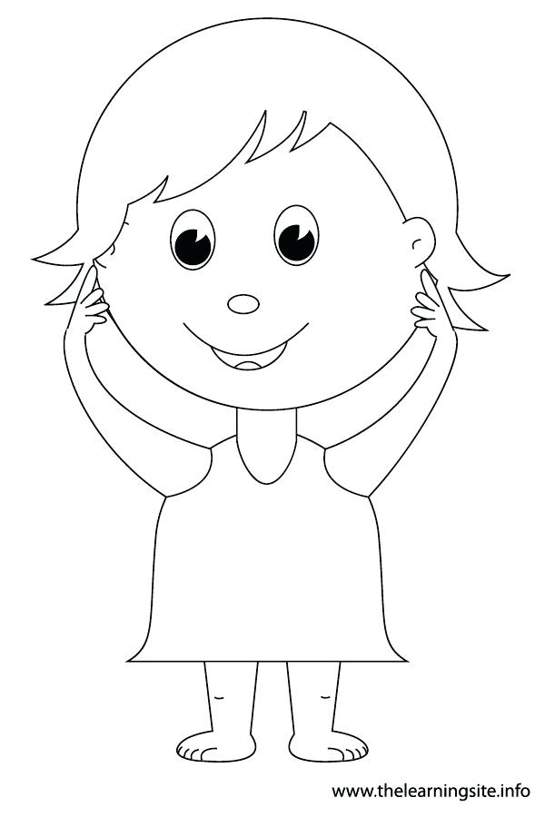 600x900 Body Outline Coloring Page Major Organs Of The Human Body Coloring