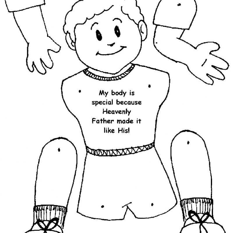 793x800 Human Body Coloring Pages