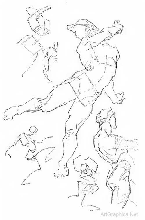 500x758 Constructive Anatomy By George Bridgman, Free Online Art Book