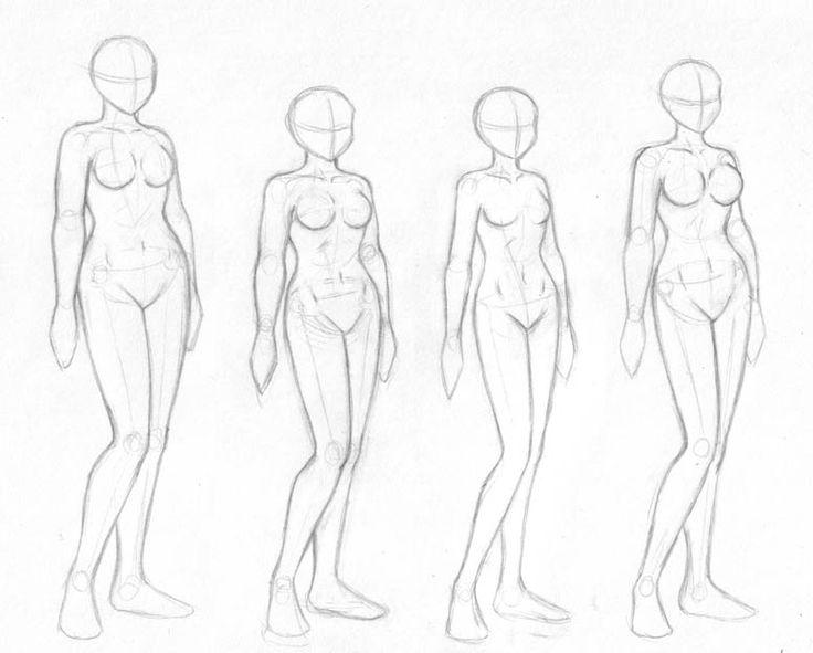 736x591 Gallery Simple Body Sketch,
