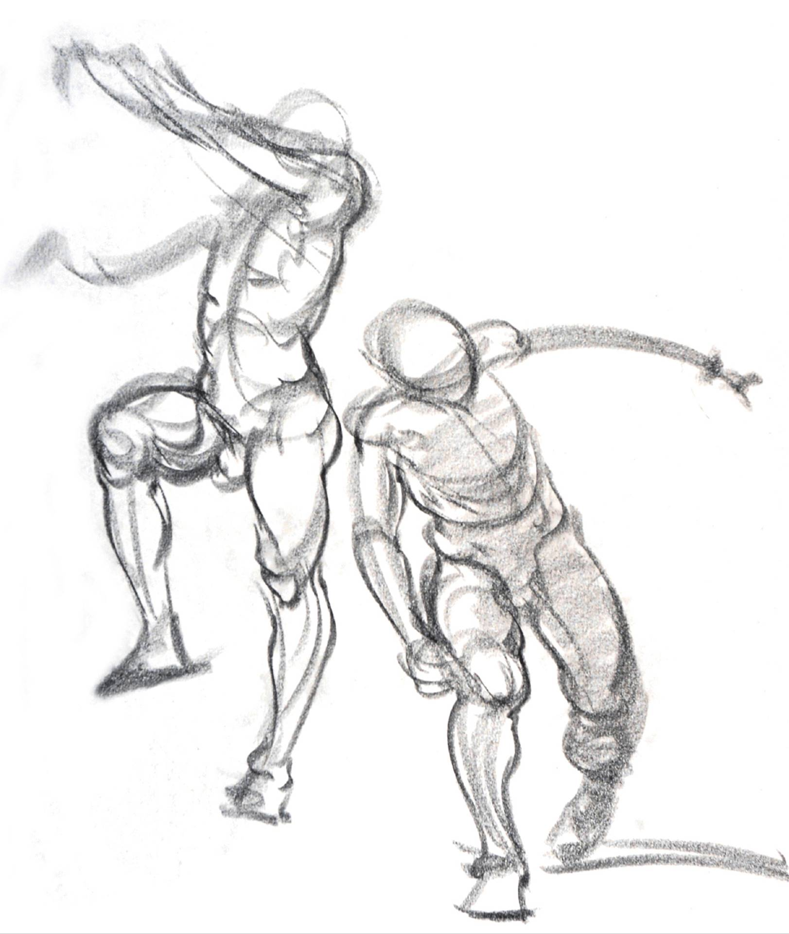 1623x1921 Gesture And Action Drawing