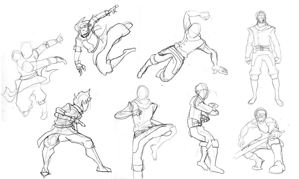 1154x693 Human Body Sketch Male