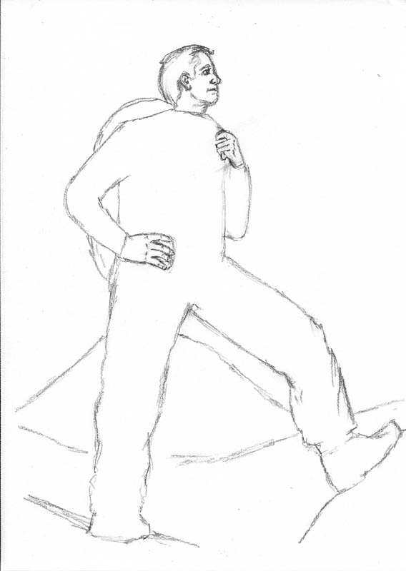 568x800 See How To Sketch A Person In 4 Easy Steps Let's Draw People