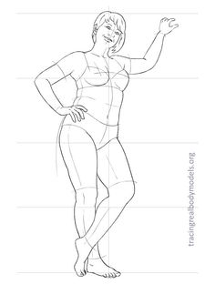 236x312 Free Download Fashion Figure Template Of Plus Size Croqui In