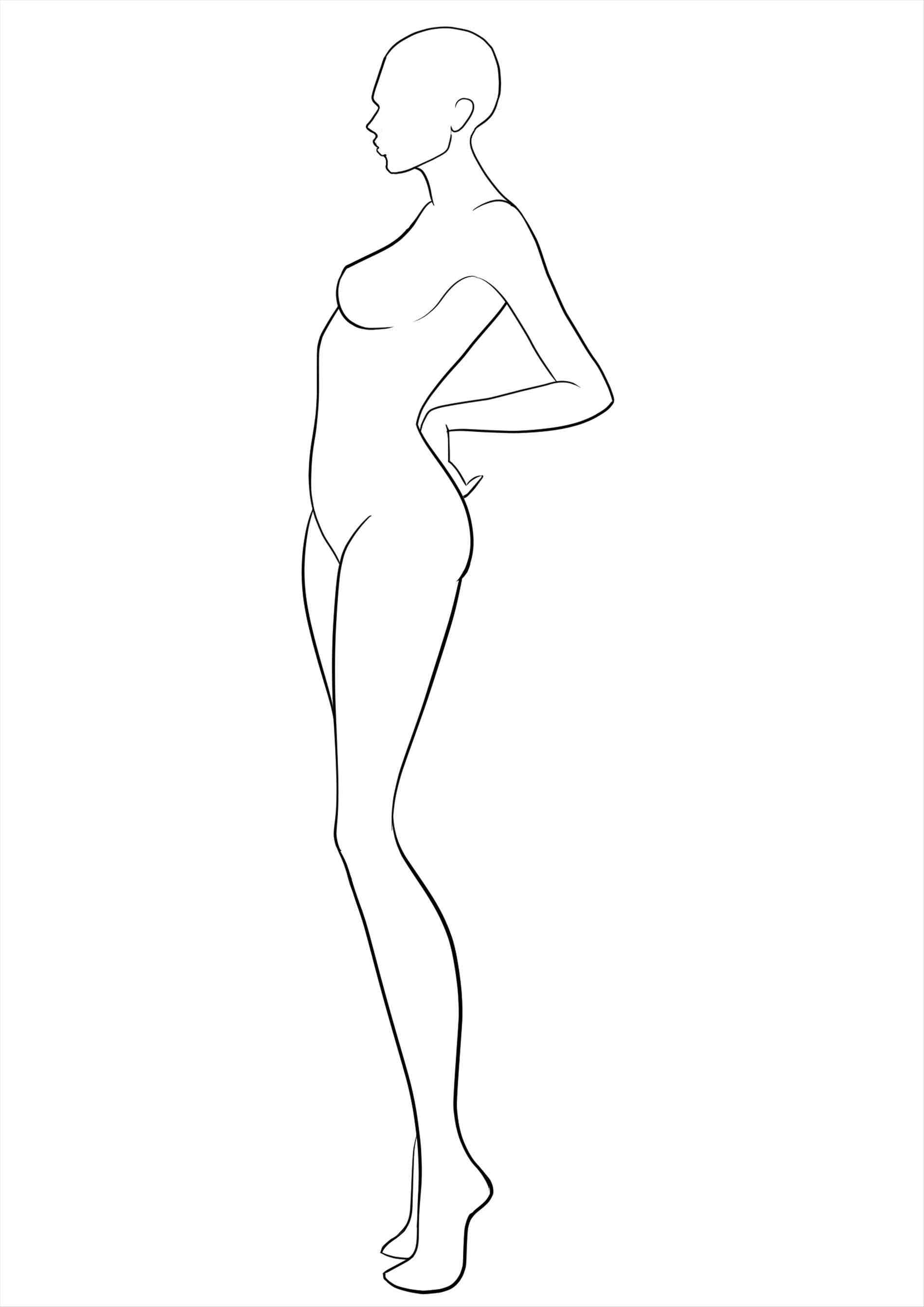 1900x2686 How To Draw Human Figures For Fashion Designing