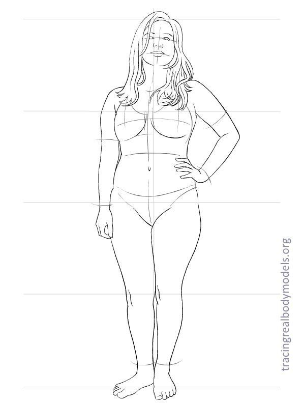 Human Drawing Templates At Getdrawings Com Free For