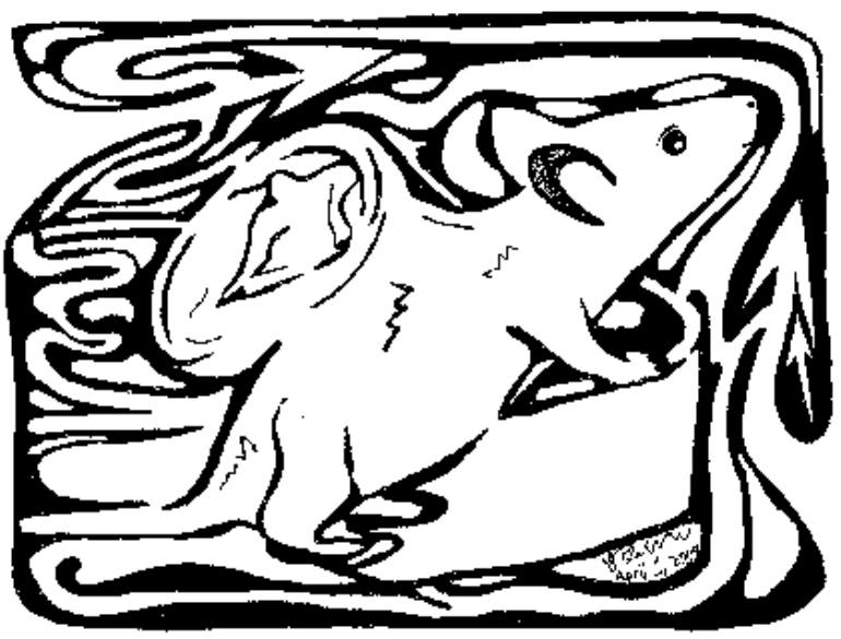770x585 Saatchi Art Human Ear Mouse Maze By Yonatan Frimer