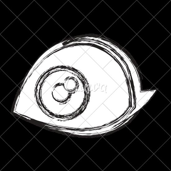 550x550 Cartoon Human Eye