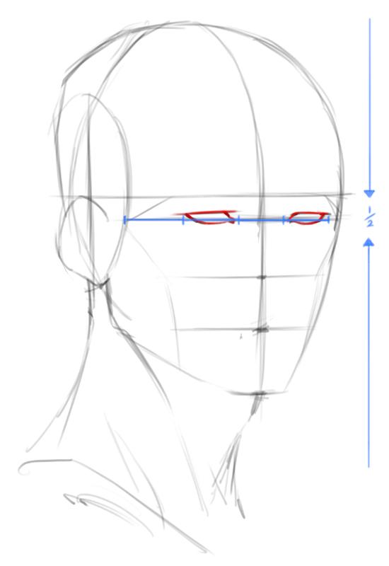 550x800 How To Draw Heads 34 Angle
