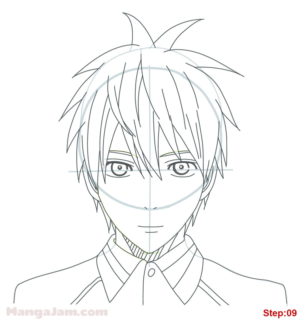 1209x1280 How To Draw Tetsuya From Kuroko No Basuke