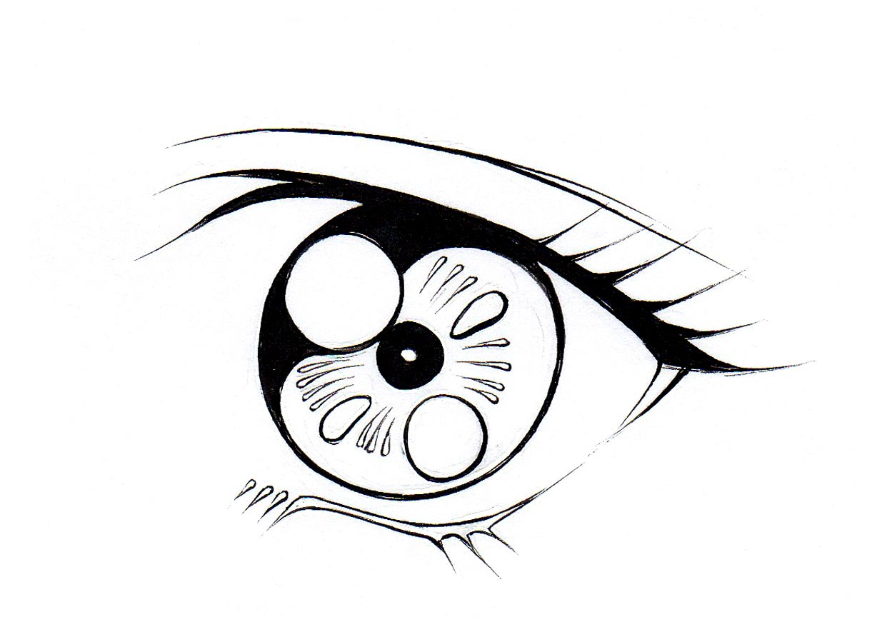 1242x864 Learn The Intricacies Of How To Draw Anime Eyes
