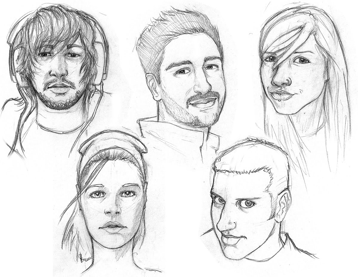 1200x927 Alx Art Blog Facebook Face Drawings