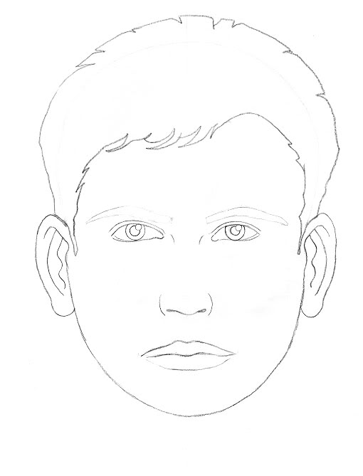 510x669 Drawing A Face Tutorial