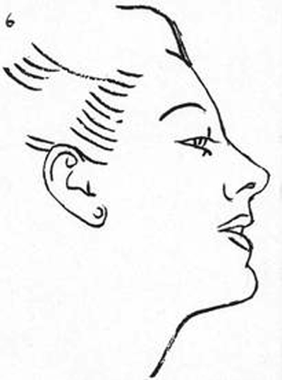 400x539 How To Draw The Human Head Step By Step Drawing Tutorial