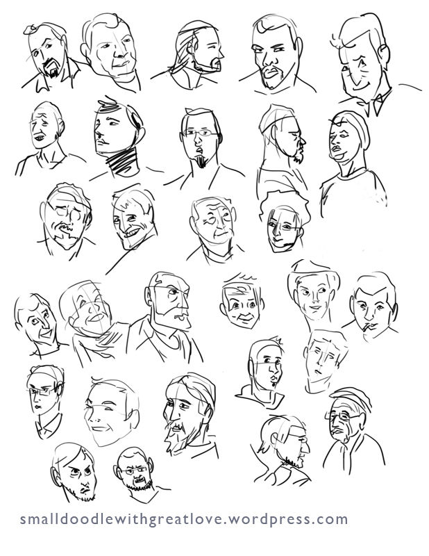 Human Faces Drawing