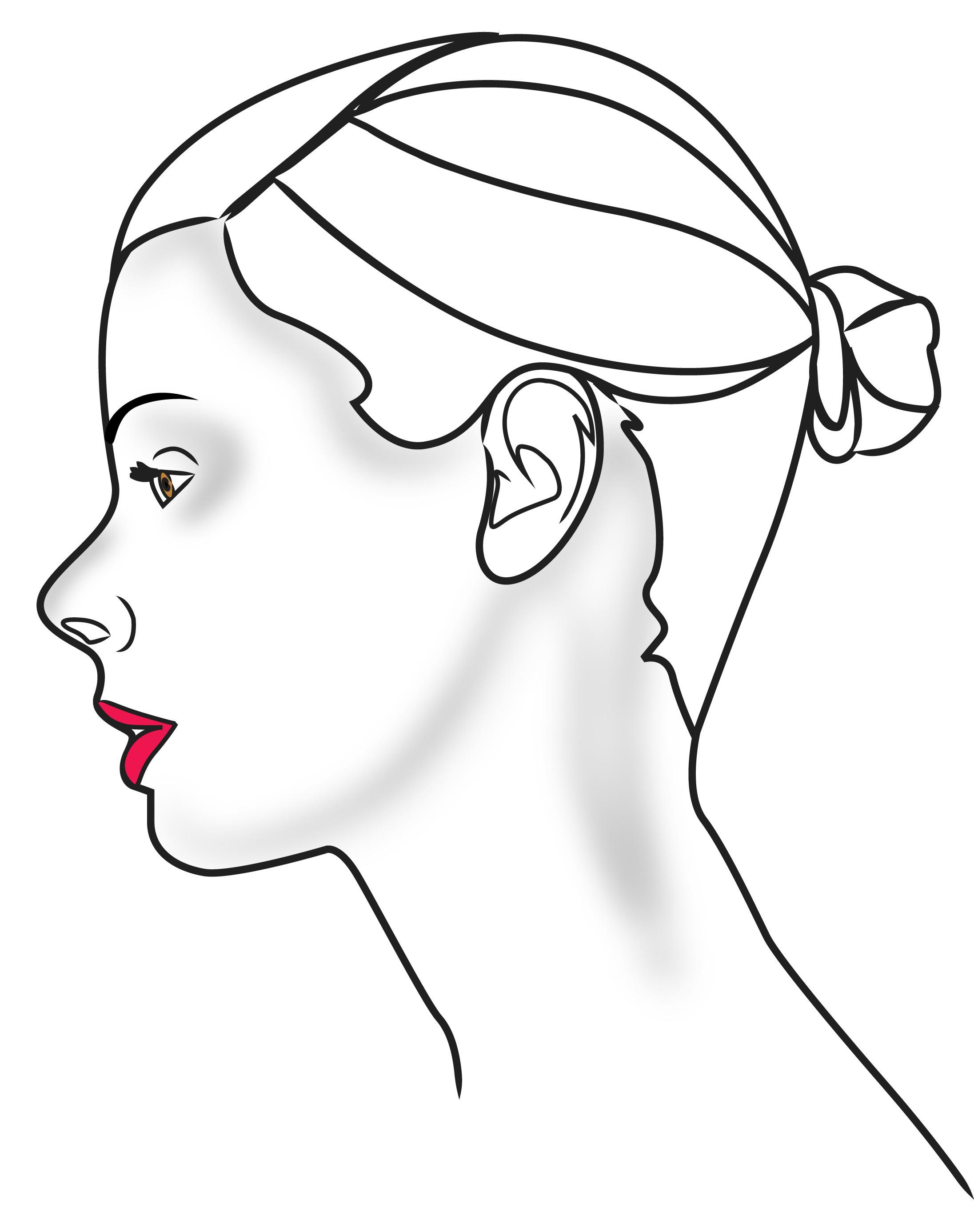 2192x2772 Draw A Human Head Human Head