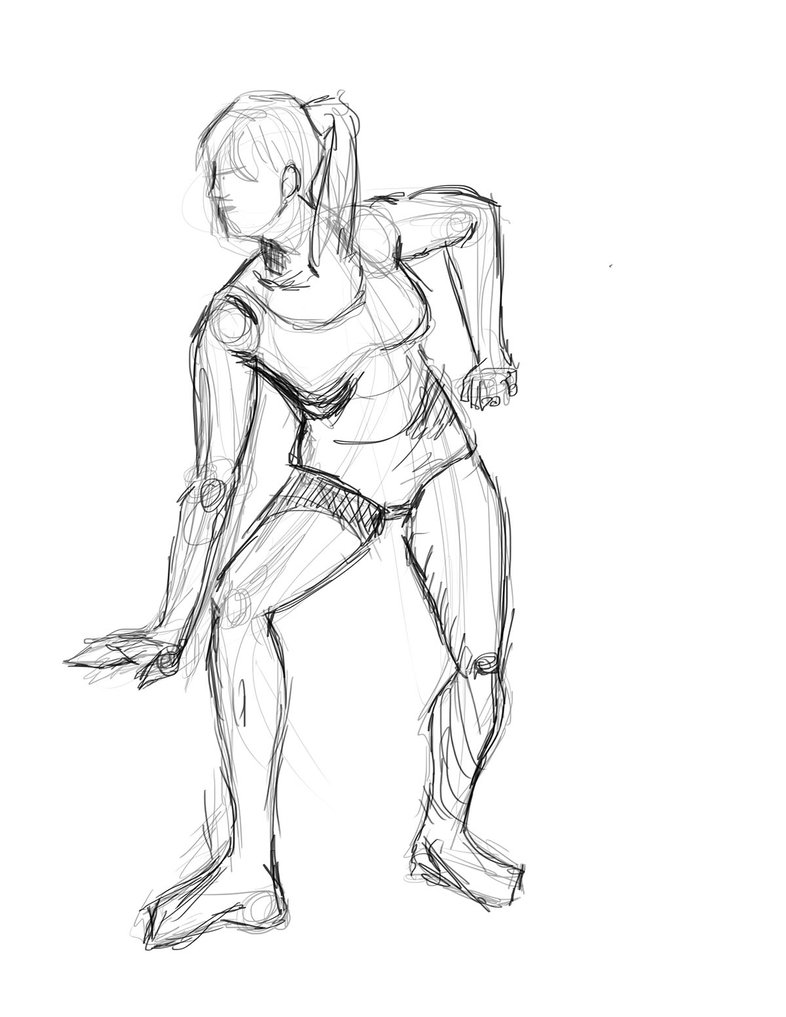 786x1017 Figure Drawing Sketches 2 By That Nerdy Art Girl