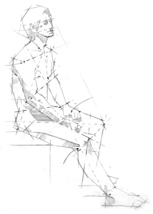 300x419 How To Draw People, Figure Drawing Techniques