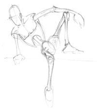 200x230 Lost Pencil Figure Drawing