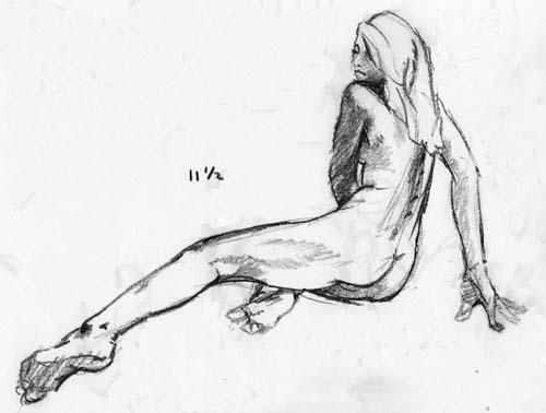 500x378 Lost In Wonder Figure Drawing