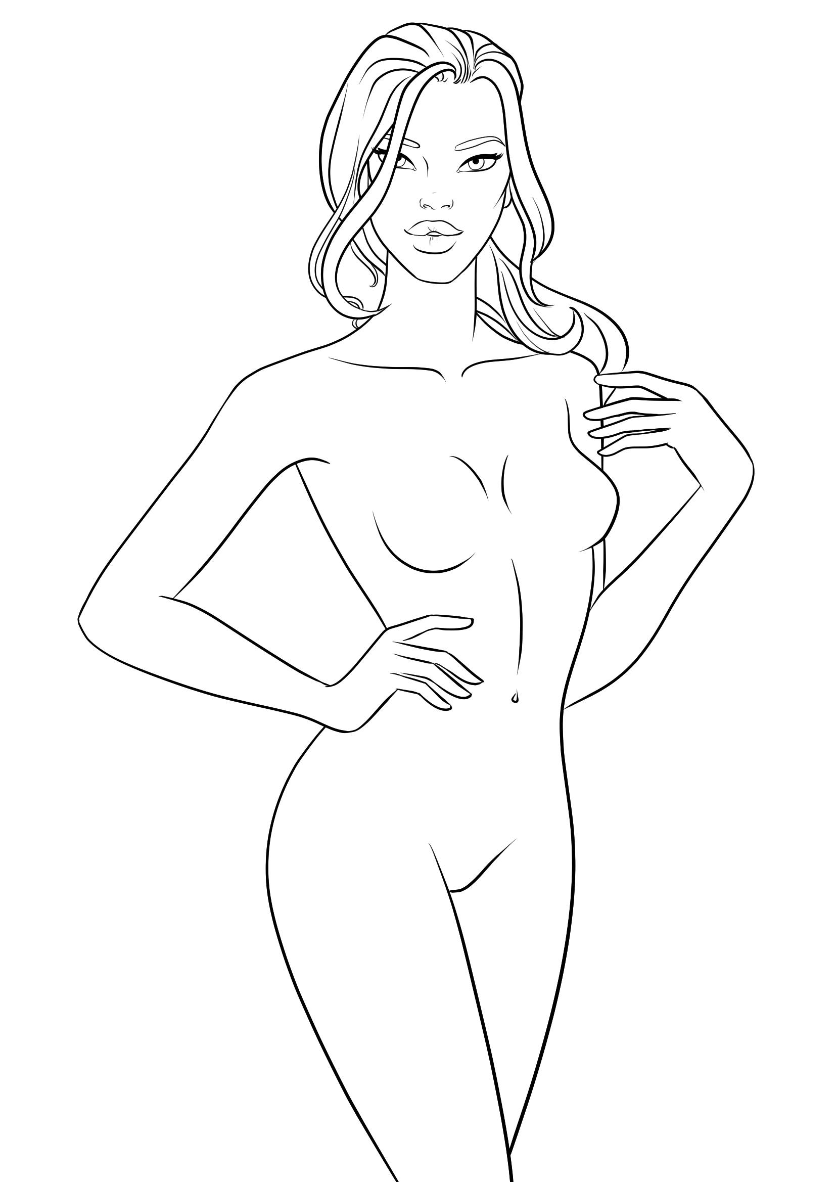 Human Figure Drawing Template at GetDrawings.com | Free for personal ...