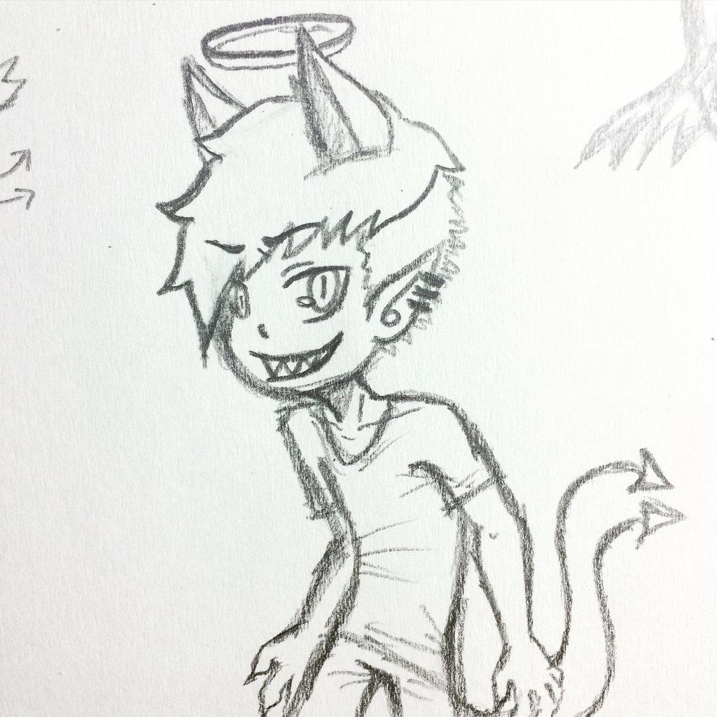 1024x1024 Devil Cat