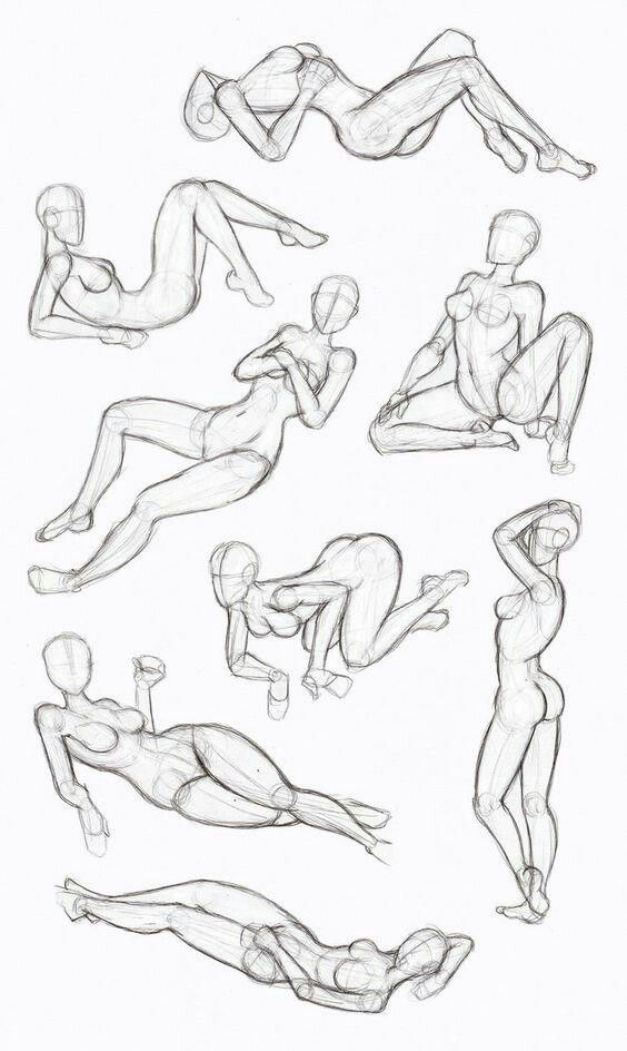 564x944 Life Modeling Inspiration Useful Drawings
