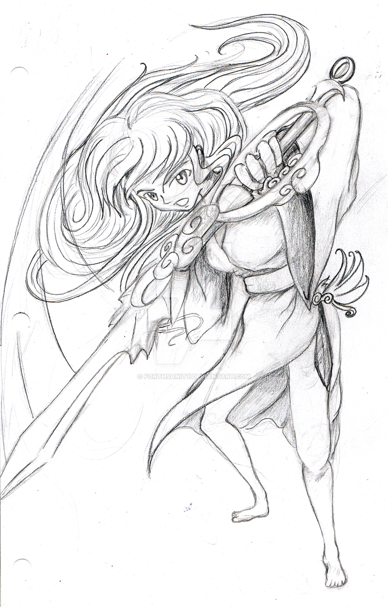 800x1252 Sketch Human Form Okami