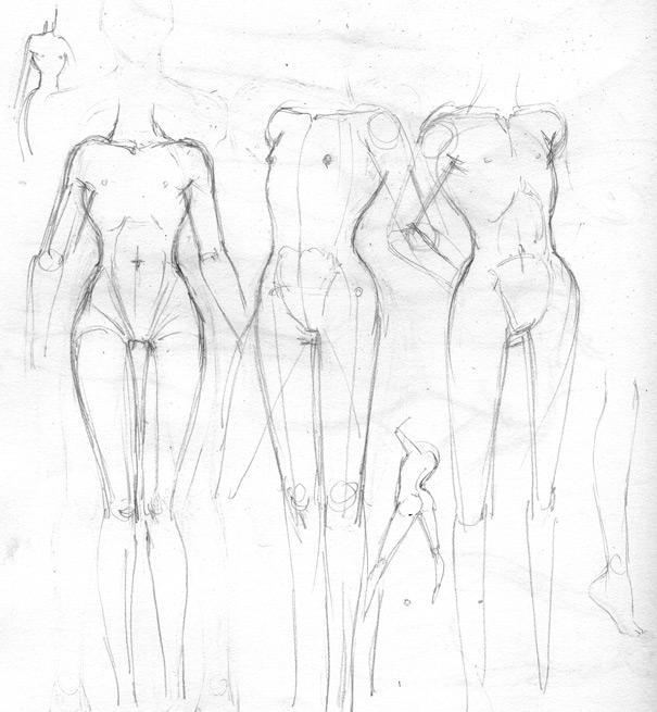 605x655 Sketchbook Kristine's Life Drawing, Cg, Etc!