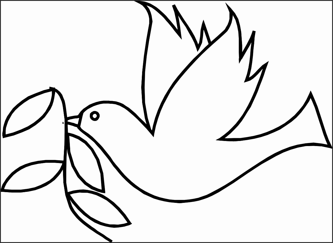 1120x817 Easy Dove Drawing Be2ha Unique Sketch Style Human Hands With Peace