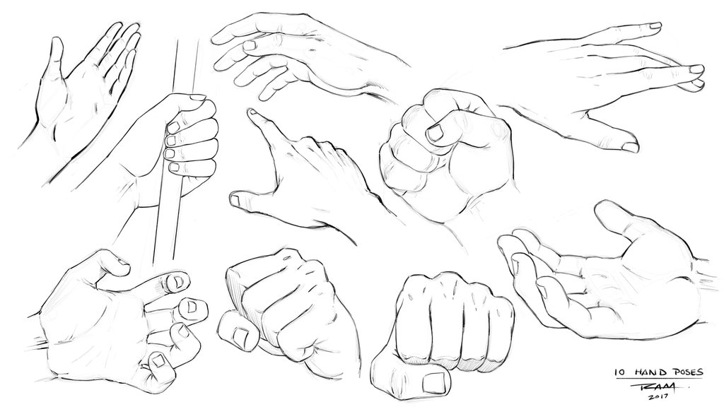 1024x576 Hand Sketches