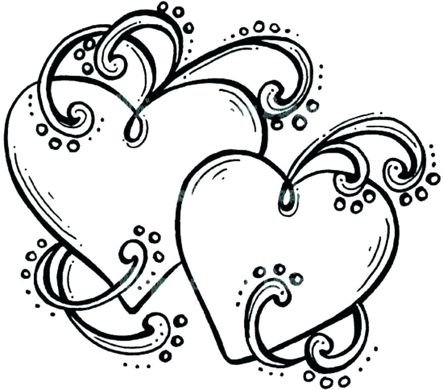 878x773 Lovely Human Heart Coloring Pages Free Download Anatomy Anatomical