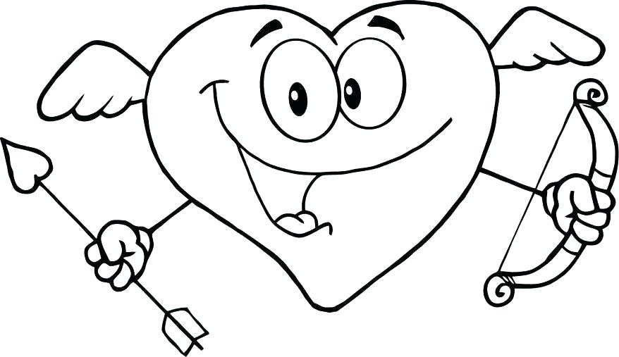 878x507 Awesome Heart Drawings Awesome Heart Coloring Page Image Love