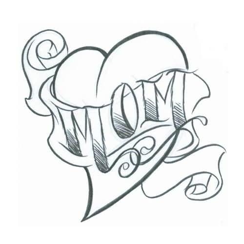 500x500 Amazing Mom Tattoo Designs
