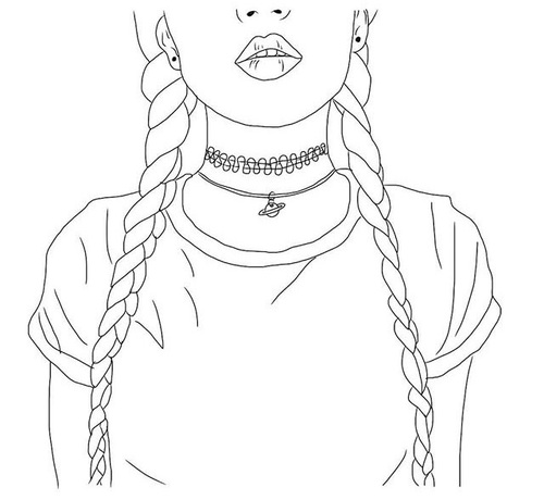 500x460 Outline Pictures For Drawing Kids Coloring Page