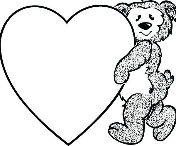 600x500 Clipart Heart Clip Art Heart Human Heart Clip Art Outline