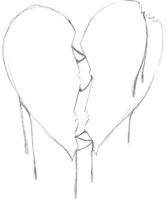 550x659 Hearts Coloring Pages Broken Heart Coloring Pages Human Heart