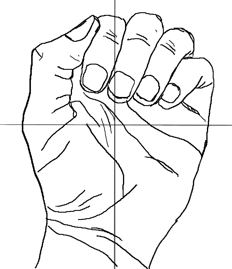 796x921 Outline Pictures For Drawing Hand Drawing Outline Free Download