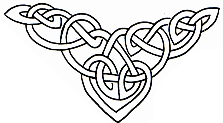 854x471 Celtic Heart Clipart