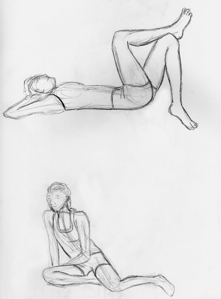 757x1024 Human Pencil Sketch 1 By Shibalove