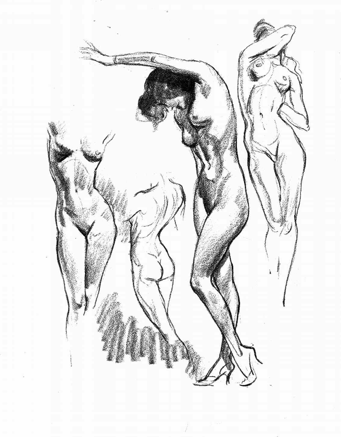 1132x1451 Pencil Drawings