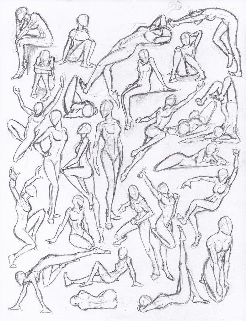 human pose drawing at getdrawings com free for personal use human