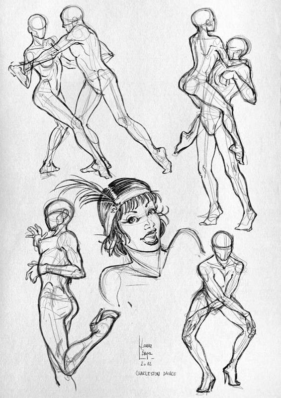 Human Pose Drawing