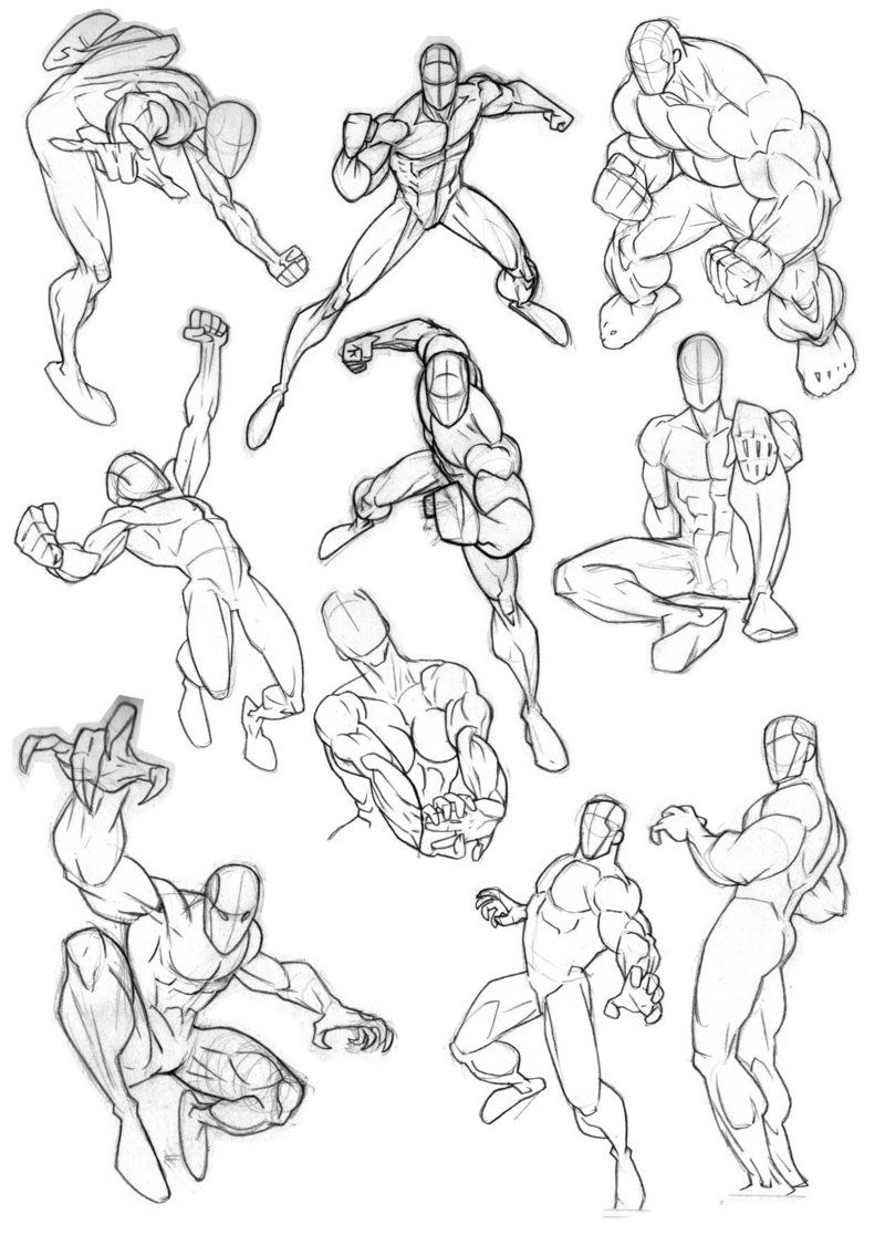 800x1125 More Comic Anatomy By On @