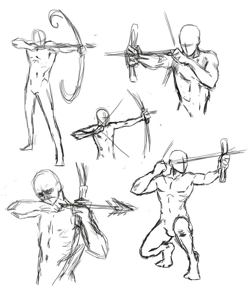 830x962 Drawing Bow Poses By Thealtimate On Ideas + How