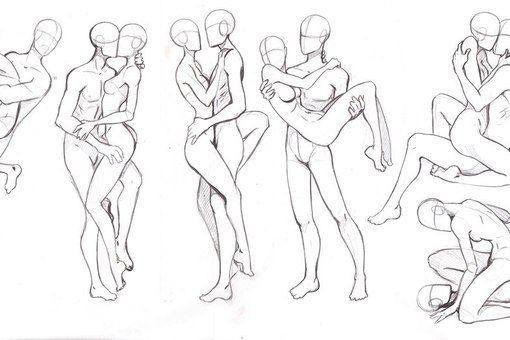 510x340 Female Action Poses