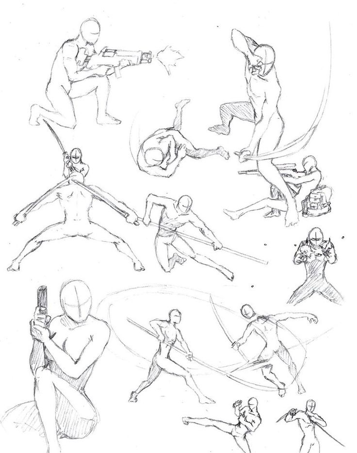 736x934 Drawing Action Body Poses Drawing Helpful, Action [ Art Edu