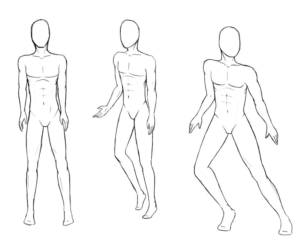 1000x800 Male Poses 1 By Rustsage
